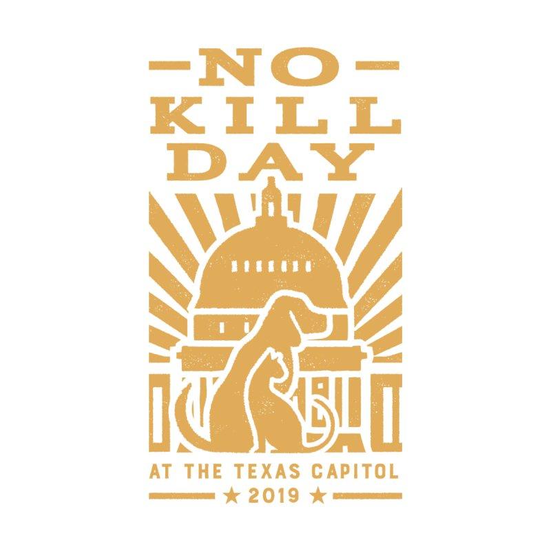 Texas No Kill Day 2019 Men's T - Navy Men's T-Shirt by Texas Pets Alive