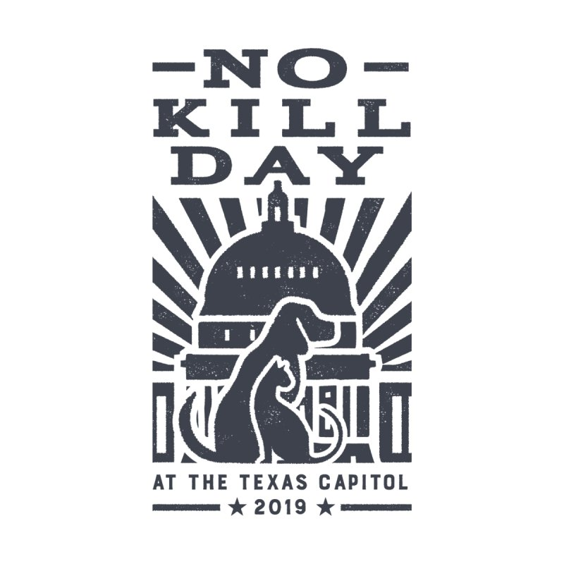 Texas No Kill Day 2019 Men's T - Gold Men's T-Shirt by Texas Pets Alive