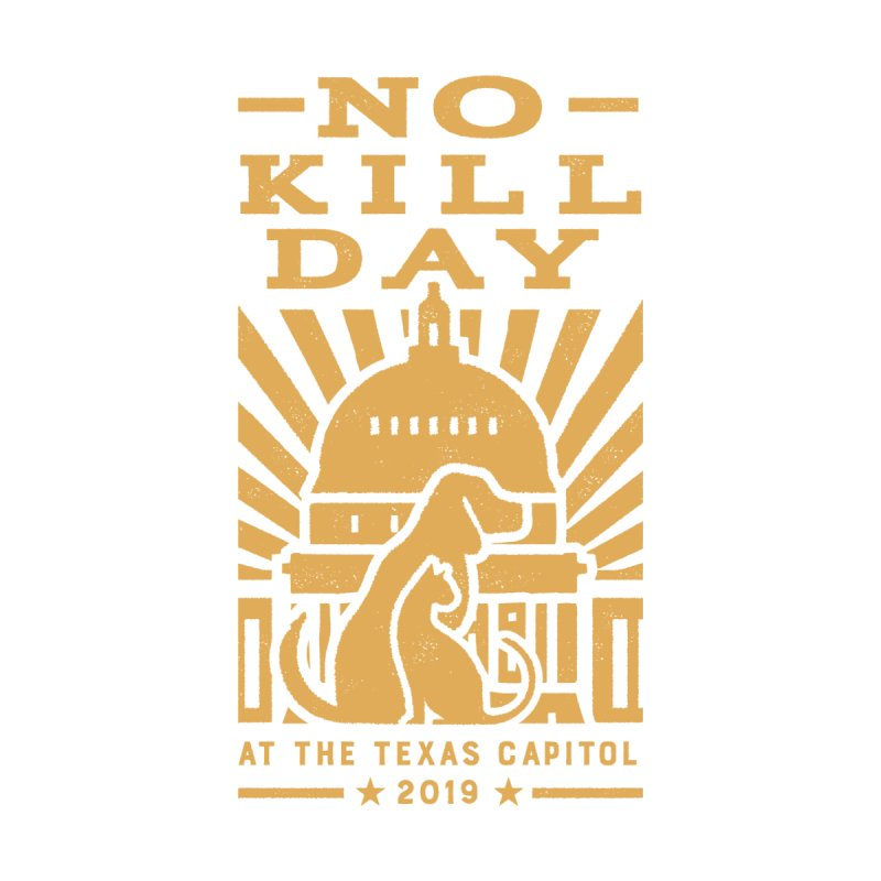 Texas No Kill Day 2019- Dolman-T Wms Women's Scoop Neck by Texas Pets Alive