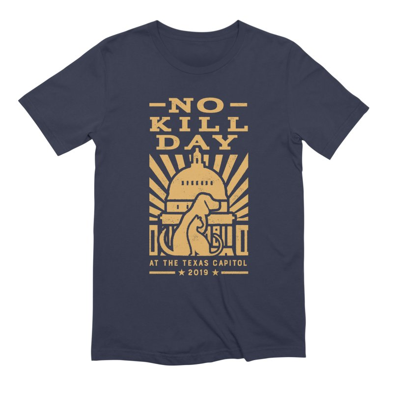 Texas No Kill Day 2019- Dolman-T Wms Men's Extra Soft T-Shirt by Texas Pets Alive
