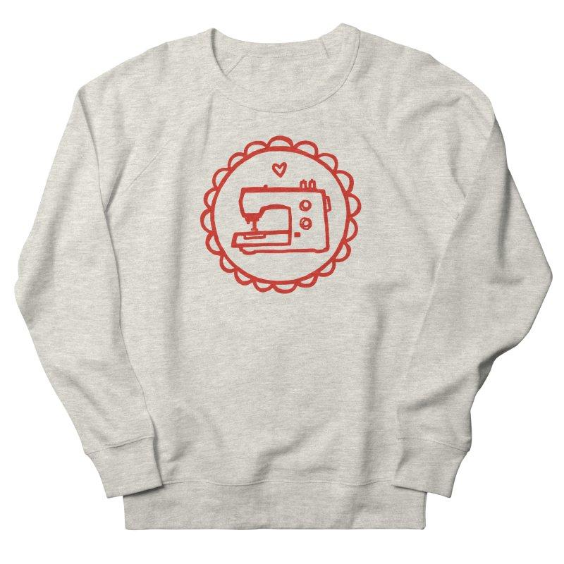 Red Textillia Logo Women's Sweatshirt by Textillia Shirt Shop