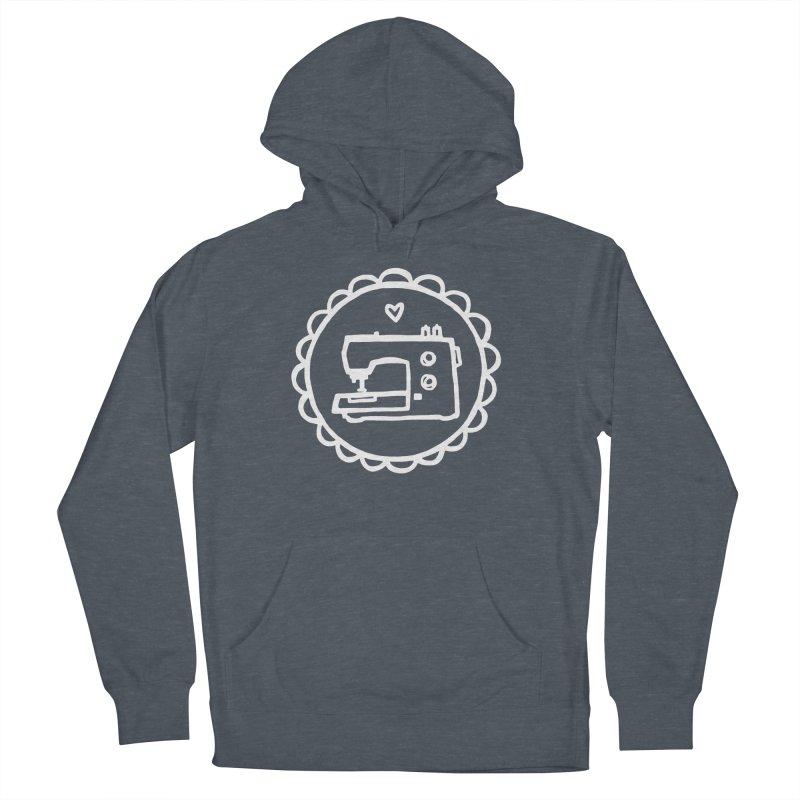 White Textillia Logo Women's Pullover Hoody by Textillia Shirt Shop