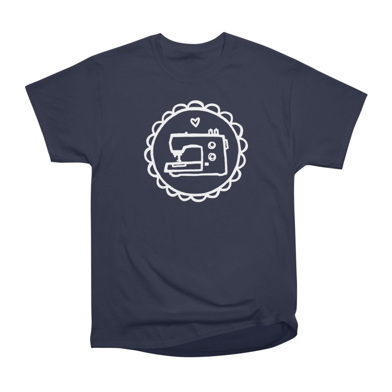 White Textillia Logo Men's T-Shirt by Textillia Shirt Shop