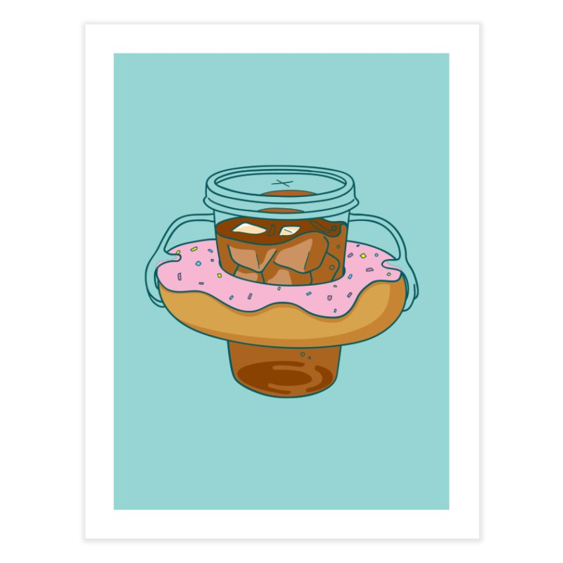 donutube Home Fine Art Print by tface's Artist Shop