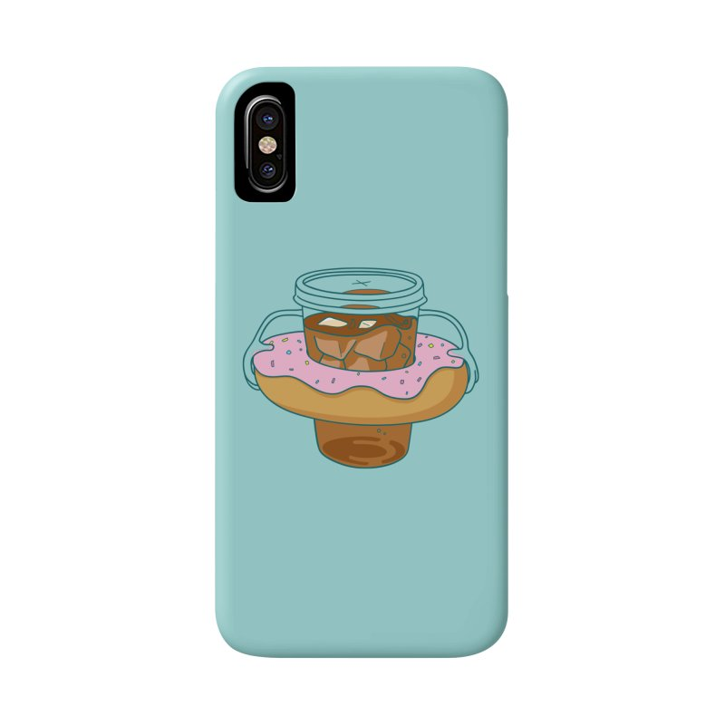 donutube Accessories Phone Case by tface's Artist Shop