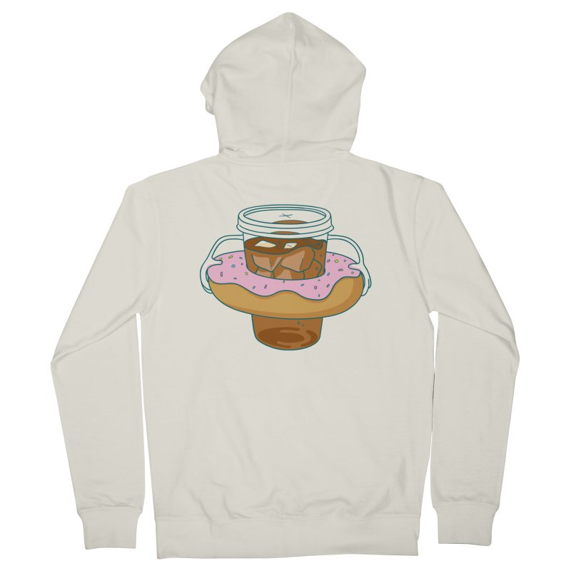 donutube Women's Zip-Up Hoody by tface's Artist Shop