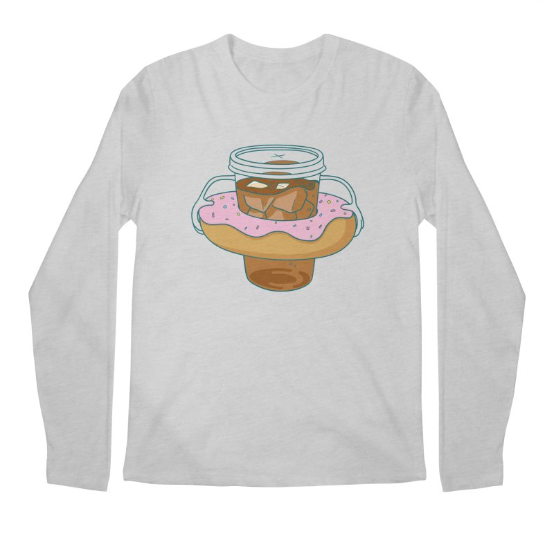 donutube Men's Longsleeve T-Shirt by tface's Artist Shop