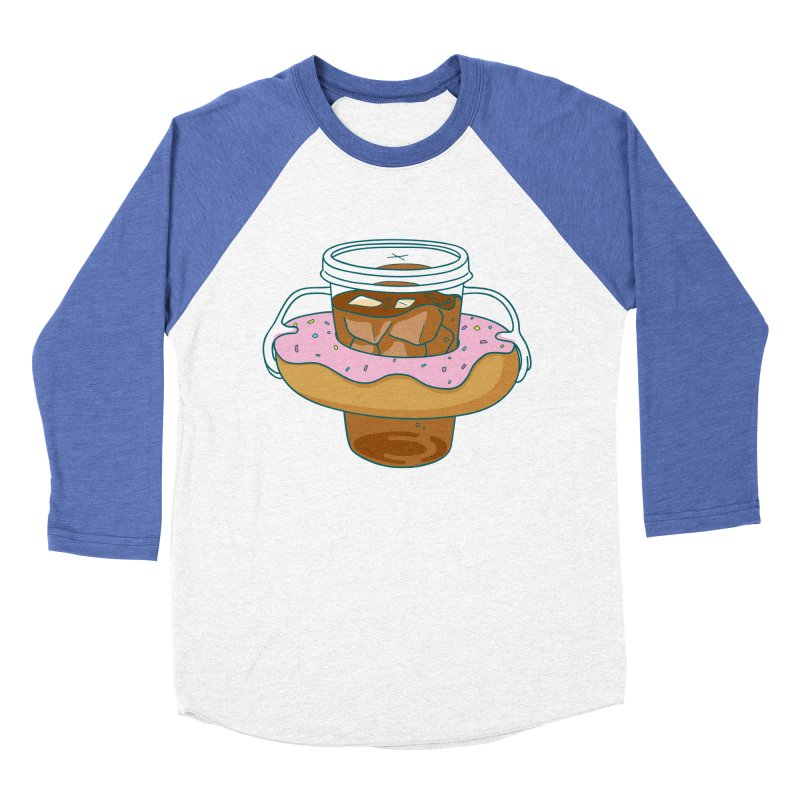 donutube Men's Baseball Triblend T-Shirt by tface's Artist Shop