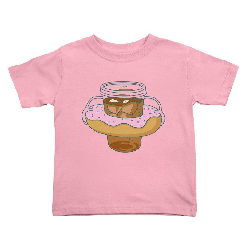 donutube Kids Toddler T-Shirt by tface's Artist Shop