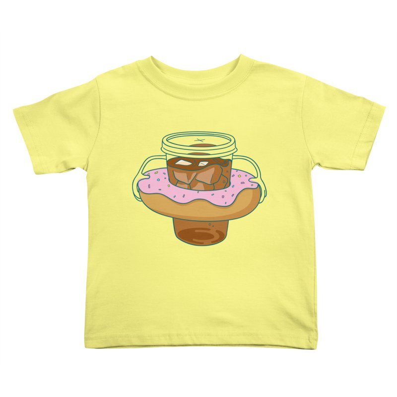 donutube Kids Toddler T-Shirt by tface's Artist Shop