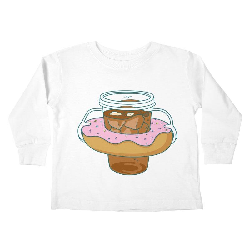 donutube Kids Toddler Longsleeve T-Shirt by tface's Artist Shop