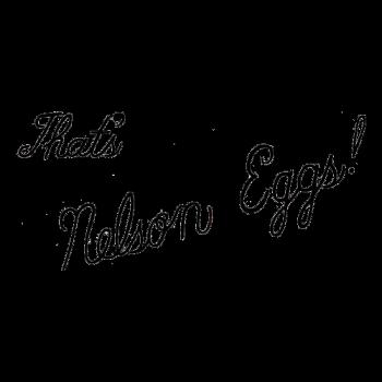 That's Nelson Eggs! Logo