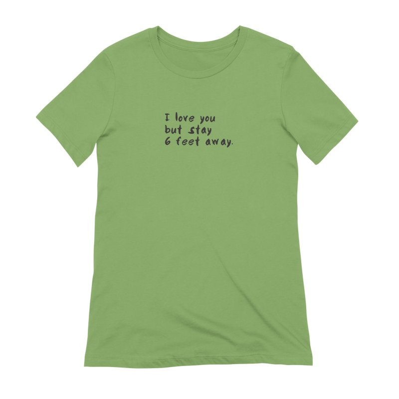 Social Distancing Kind Of Love Women's Extra Soft T-Shirt by thatssotampa's Artist Shop