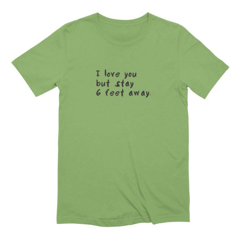 Social Distancing Kind Of Love Men's Extra Soft T-Shirt by thatssotampa's Artist Shop