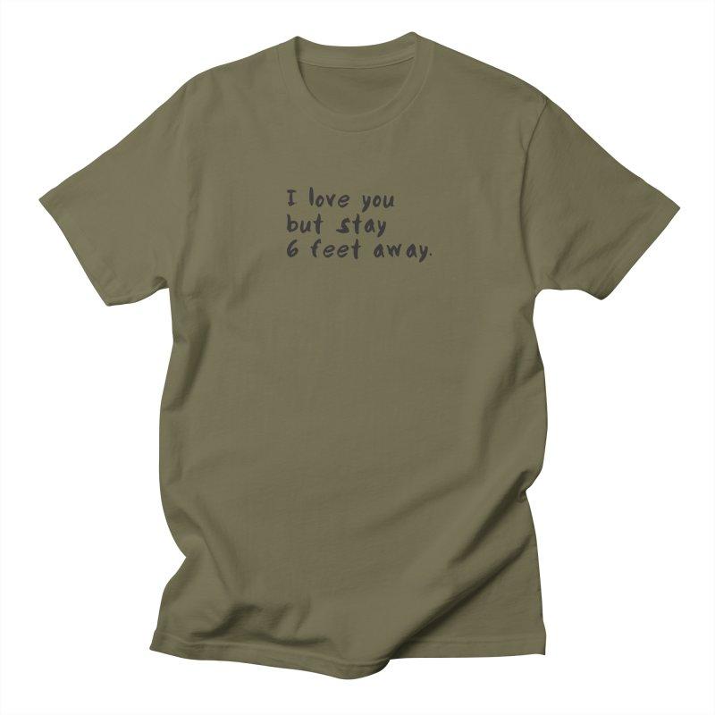 Social Distancing Kind Of Love Men's Regular T-Shirt by thatssotampa's Artist Shop