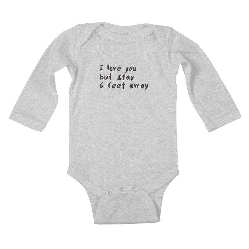 Social Distancing Kind Of Love Kids Baby Longsleeve Bodysuit by thatssotampa's Artist Shop