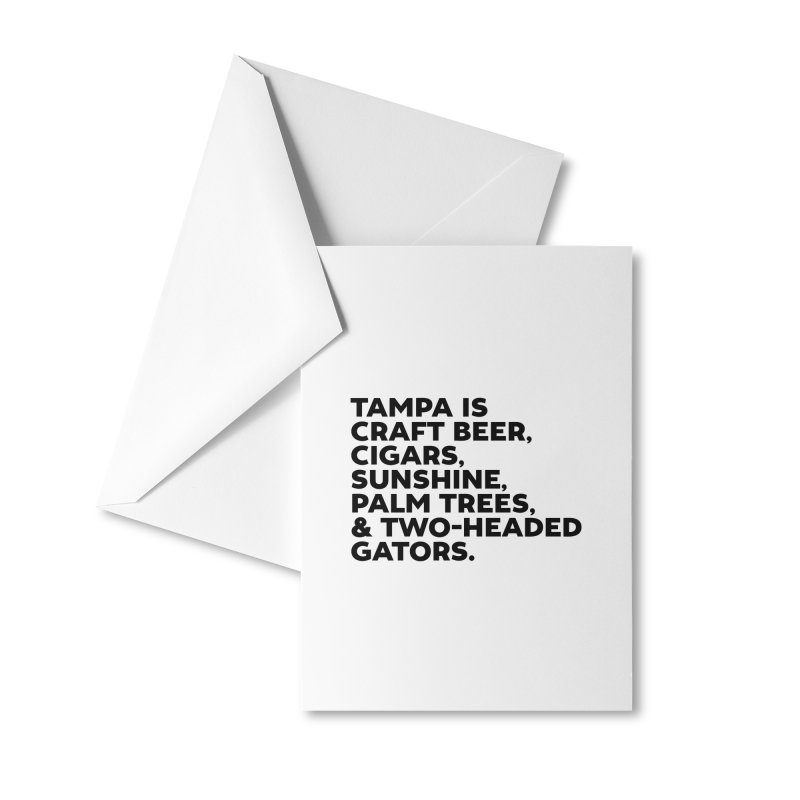 Tampa Is... Accessories Greeting Card by thatssotampa's Artist Shop