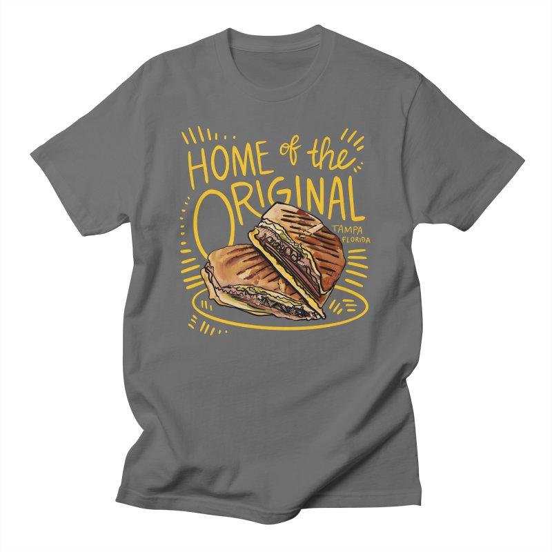 Home of the Original Cuban Sandwich Women's T-Shirt by thatssotampa's Artist Shop