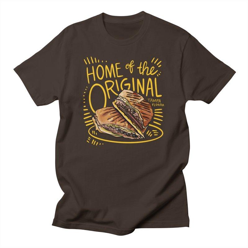 Home of the Original Cuban Sandwich Men's T-Shirt by thatssotampa's Artist Shop