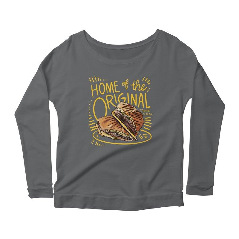Home of the Original Cuban Sandwich Women's Longsleeve T-Shirt by thatssotampa's Artist Shop