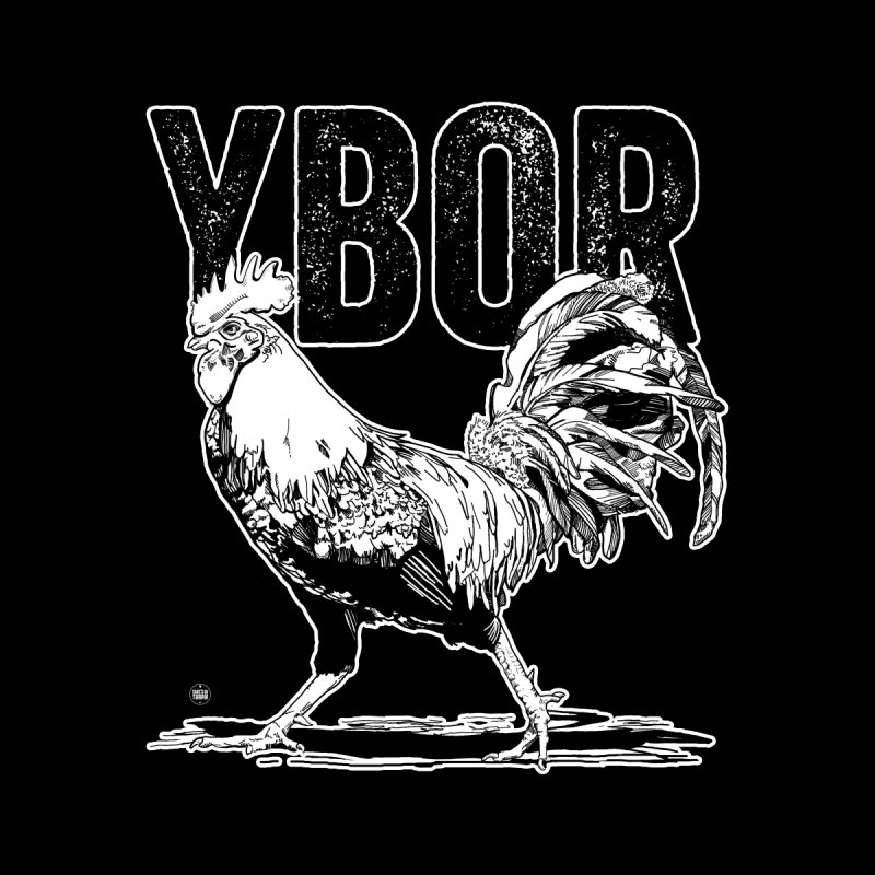 YBOR Men's V-Neck by thatssotampa's Artist Shop