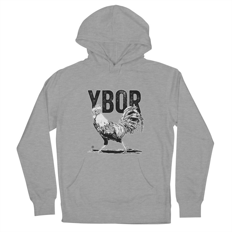 YBOR Women's French Terry Pullover Hoody by thatssotampa's Artist Shop