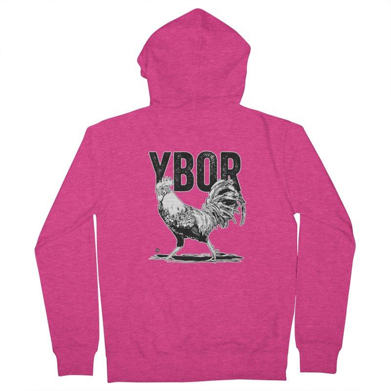 YBOR Women's Zip-Up Hoody by thatssotampa's Artist Shop
