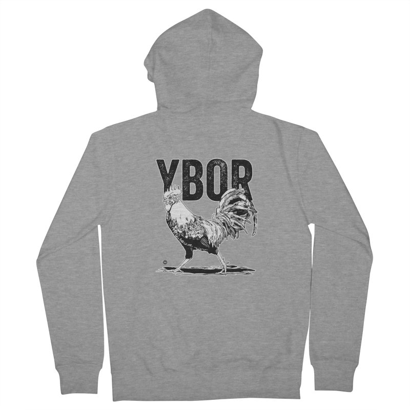 YBOR Men's Zip-Up Hoody by thatssotampa's Artist Shop