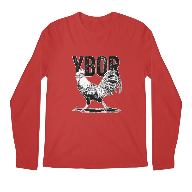 YBOR Men's Regular Longsleeve T-Shirt by thatssotampa's Artist Shop