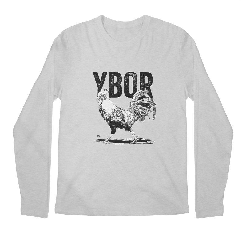YBOR Men's Regular Longsleeve T-Shirt by thatssotampa's Artist Shop