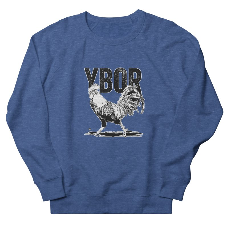 YBOR Women's French Terry Sweatshirt by thatssotampa's Artist Shop