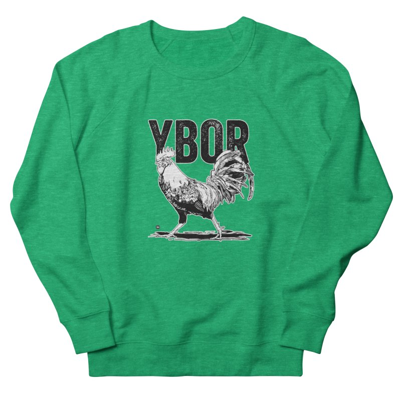 YBOR Men's French Terry Sweatshirt by thatssotampa's Artist Shop