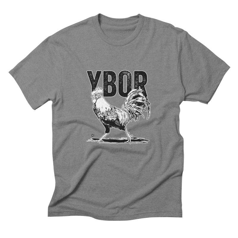 YBOR Men's Triblend T-Shirt by thatssotampa's Artist Shop