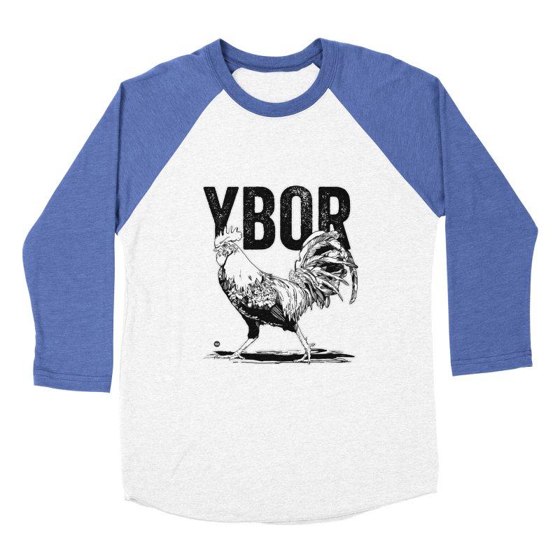 YBOR Men's Baseball Triblend T-Shirt by thatssotampa's Artist Shop