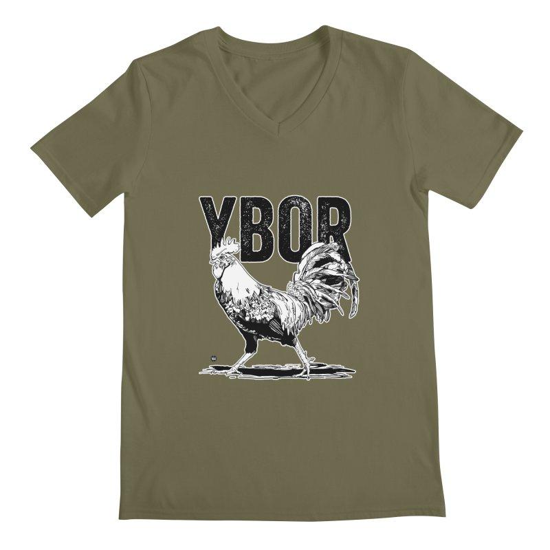 YBOR Men's V-Neck by thatssotampa's Artist Shop