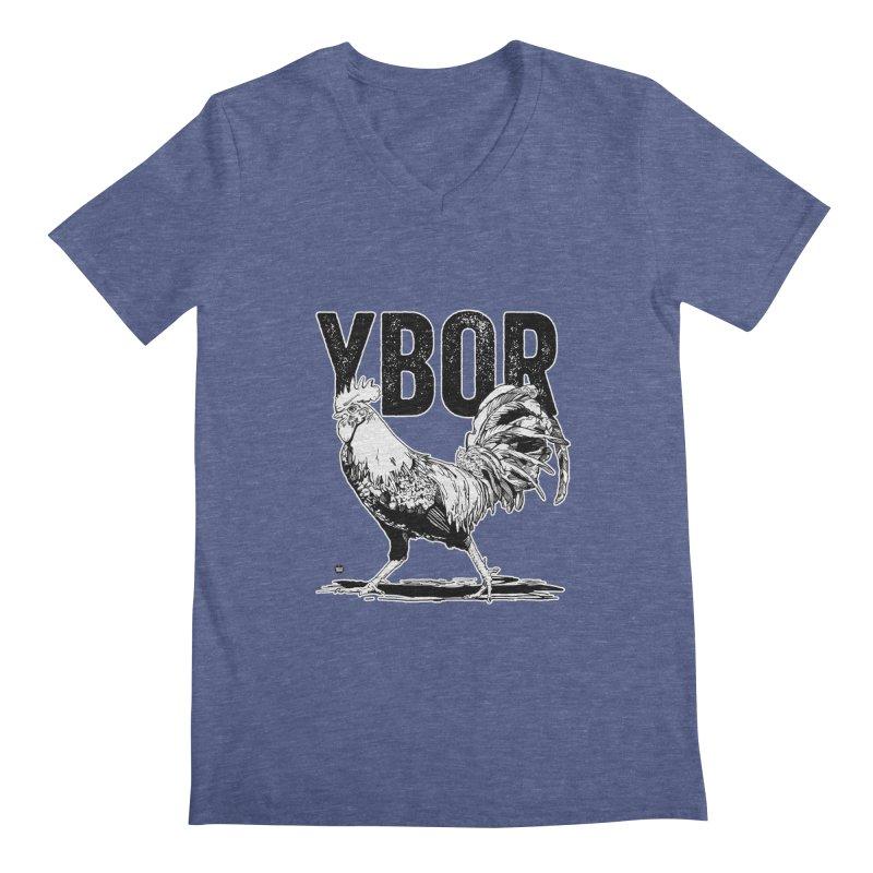 YBOR Men's Regular V-Neck by thatssotampa's Artist Shop