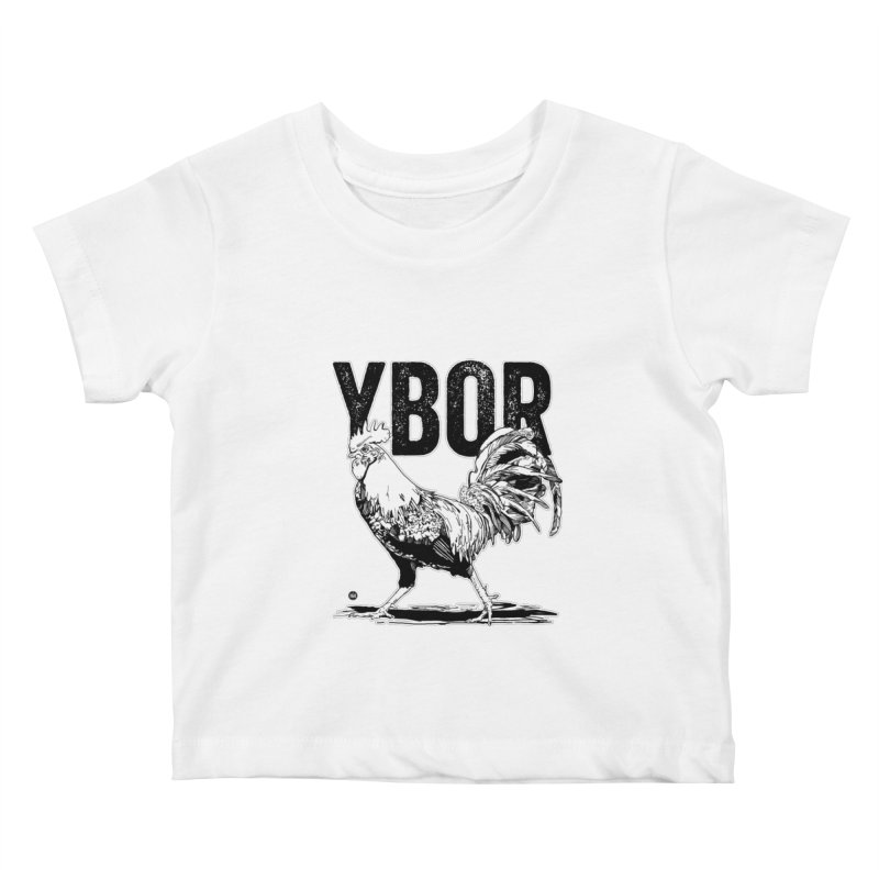 YBOR Kids Baby T-Shirt by thatssotampa's Artist Shop