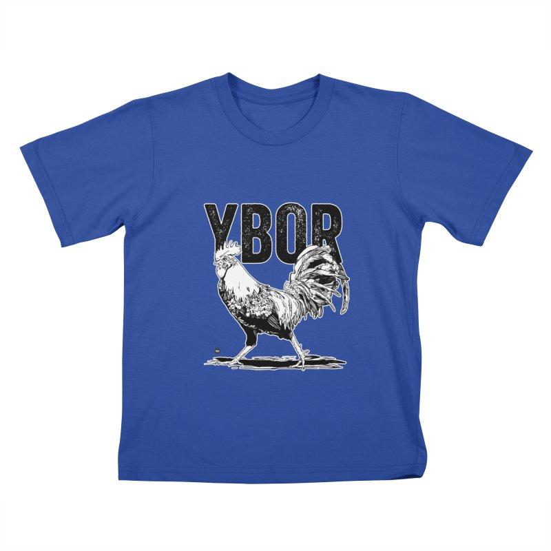 YBOR Kids T-Shirt by thatssotampa's Artist Shop