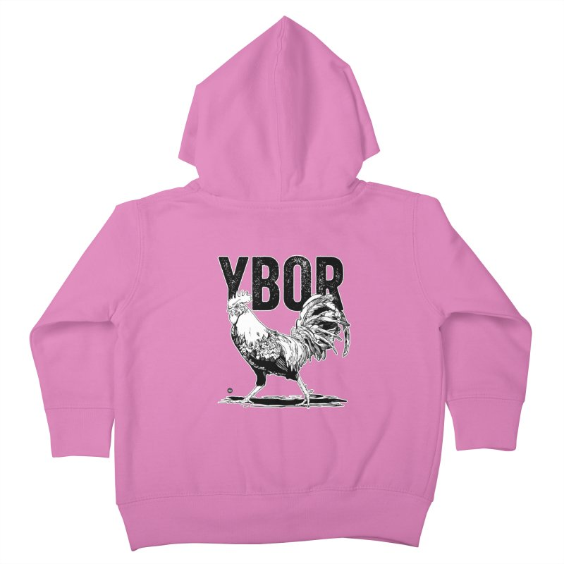 YBOR Kids Toddler Zip-Up Hoody by thatssotampa's Artist Shop