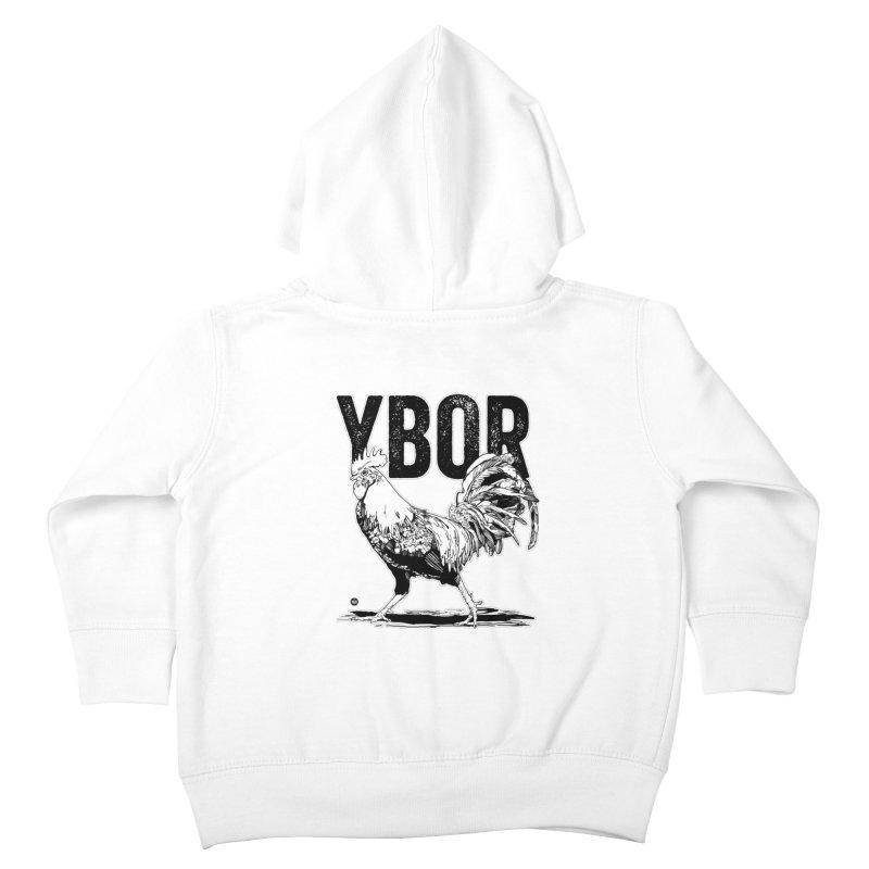 YBOR Kids Toddler Zip-Up Hoody by thatssotampa's Artist Shop