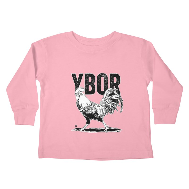 YBOR Kids Toddler Longsleeve T-Shirt by thatssotampa's Artist Shop
