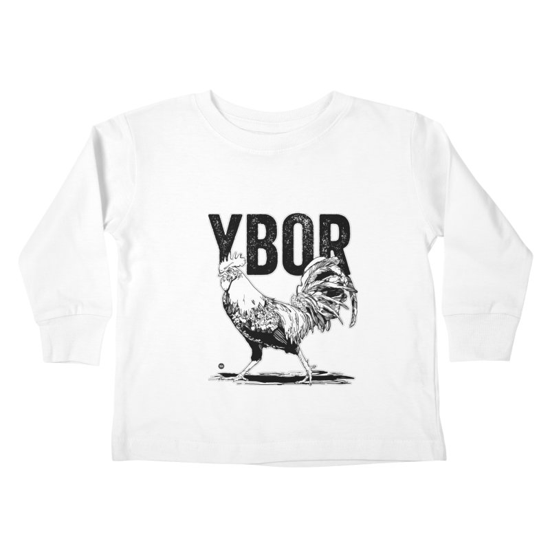 YBOR Kids Toddler Longsleeve T-Shirt by thatssotampa's Artist Shop