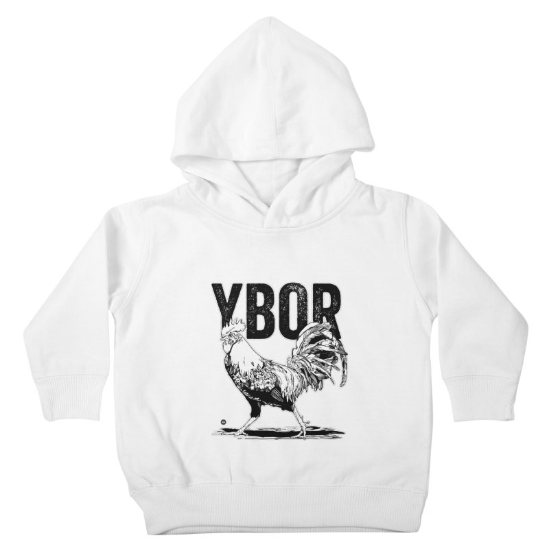 YBOR Kids Toddler Pullover Hoody by thatssotampa's Artist Shop