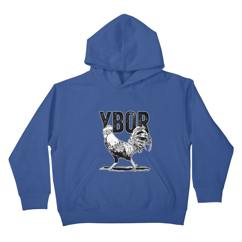 YBOR Kids Pullover Hoody by thatssotampa's Artist Shop