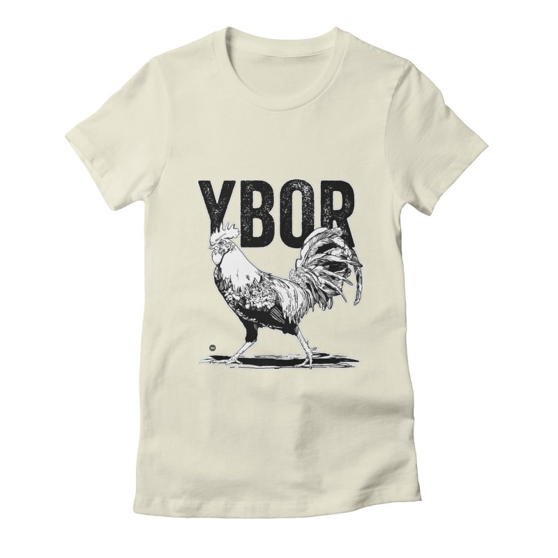 YBOR Women's Fitted T-Shirt by thatssotampa's Artist Shop