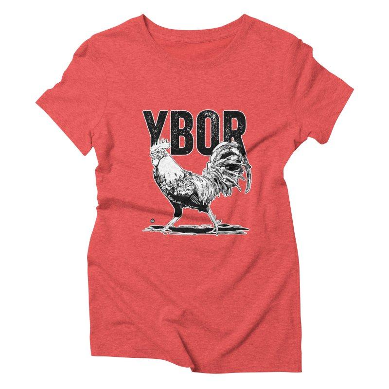 YBOR Women's Triblend T-Shirt by thatssotampa's Artist Shop