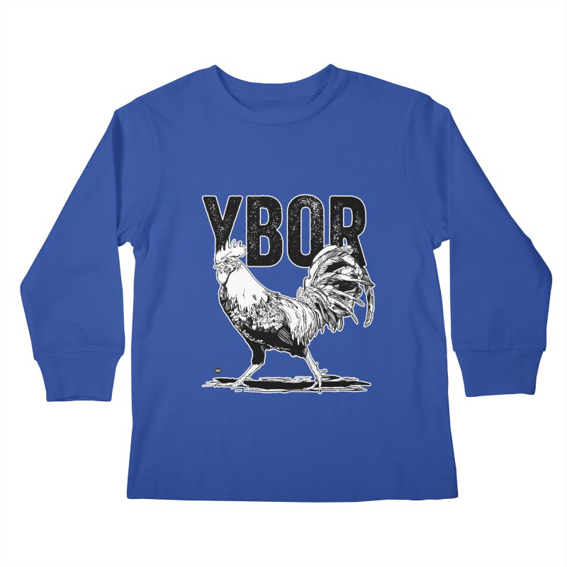 YBOR Kids Longsleeve T-Shirt by thatssotampa's Artist Shop