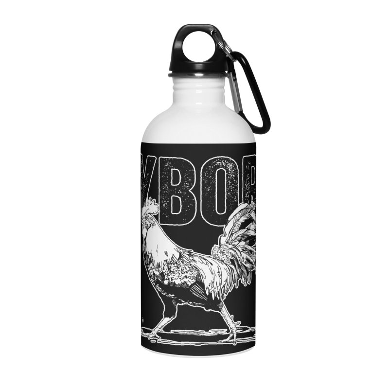 YBOR Accessories Water Bottle by thatssotampa's Artist Shop