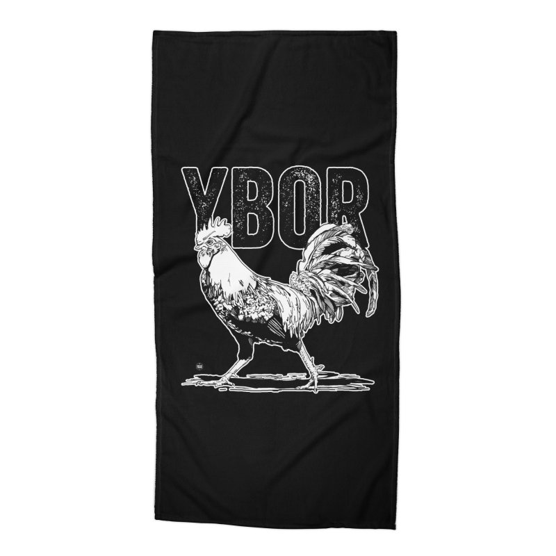 YBOR Accessories Beach Towel by thatssotampa's Artist Shop