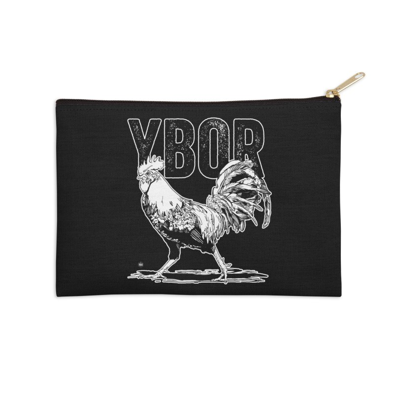 YBOR Accessories Zip Pouch by thatssotampa's Artist Shop